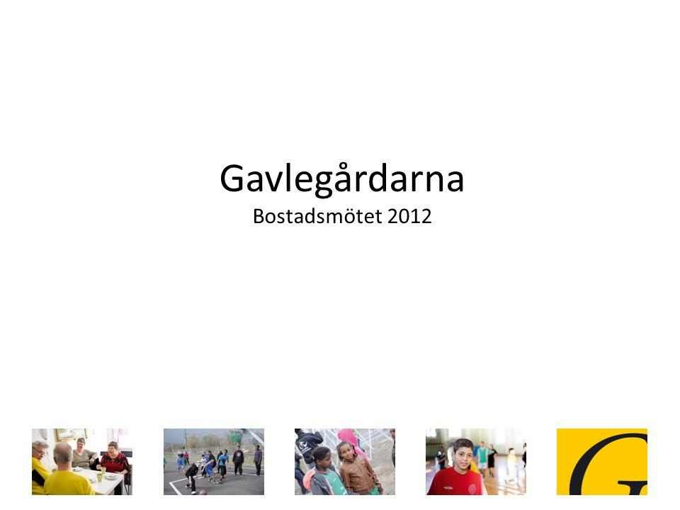 Gavlegårdarna Bostadsmötet 2012