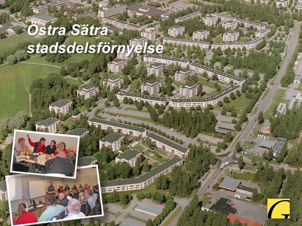 Östra Sätra stadsdelsförnyelse