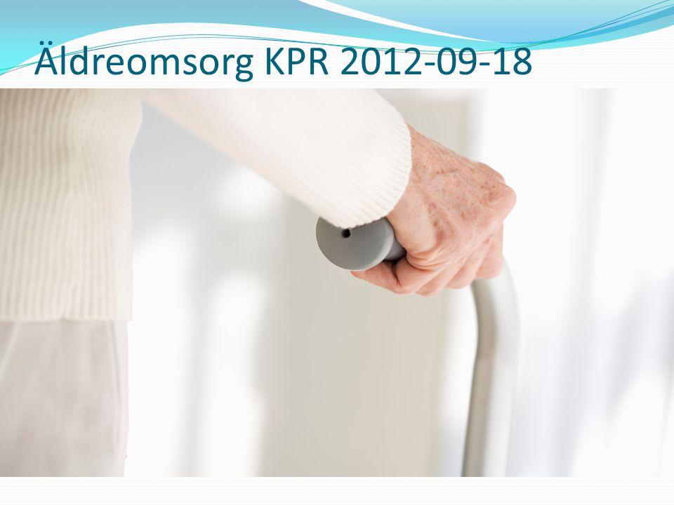 Bemanning inom demensvården  Remiss i april 2012, vissa förändringar gjorde, mindre administration  Träder i kraft januari 2014  Behöver få återkomma vid nästa tillfälle…..