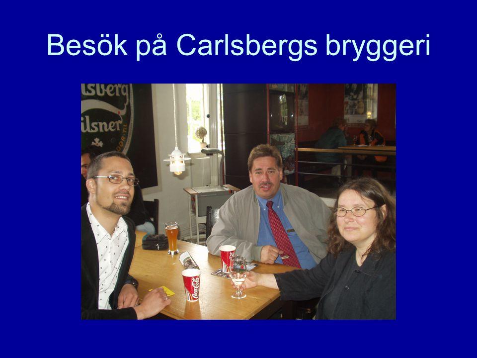Besök på Carlsbergs bryggeri