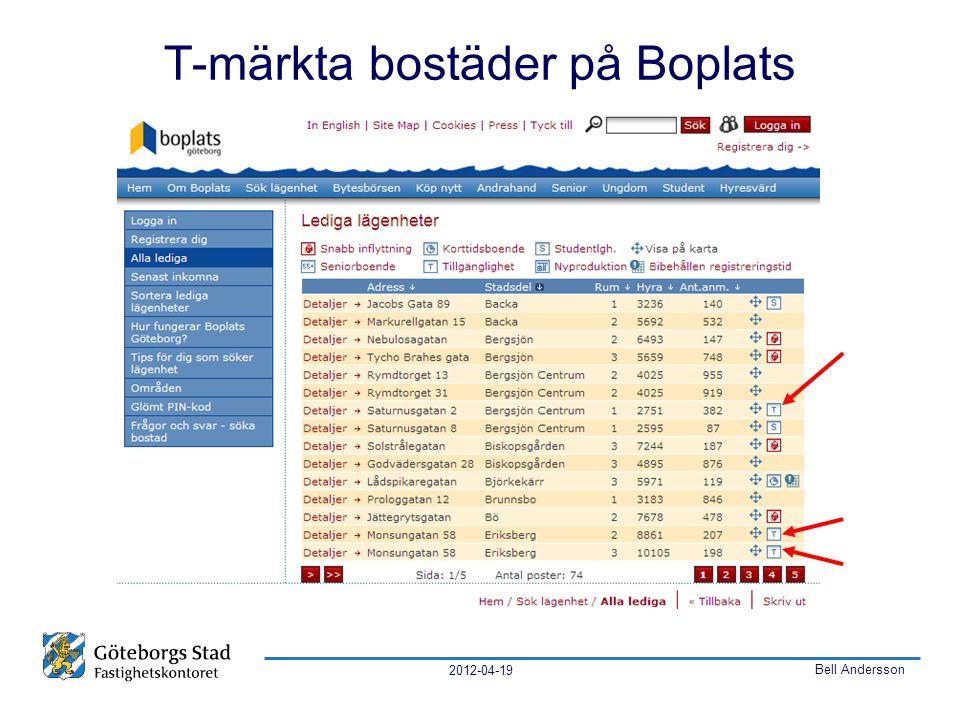 2012-04-19 Bell Andersson T-märkta bostäder på Boplats
