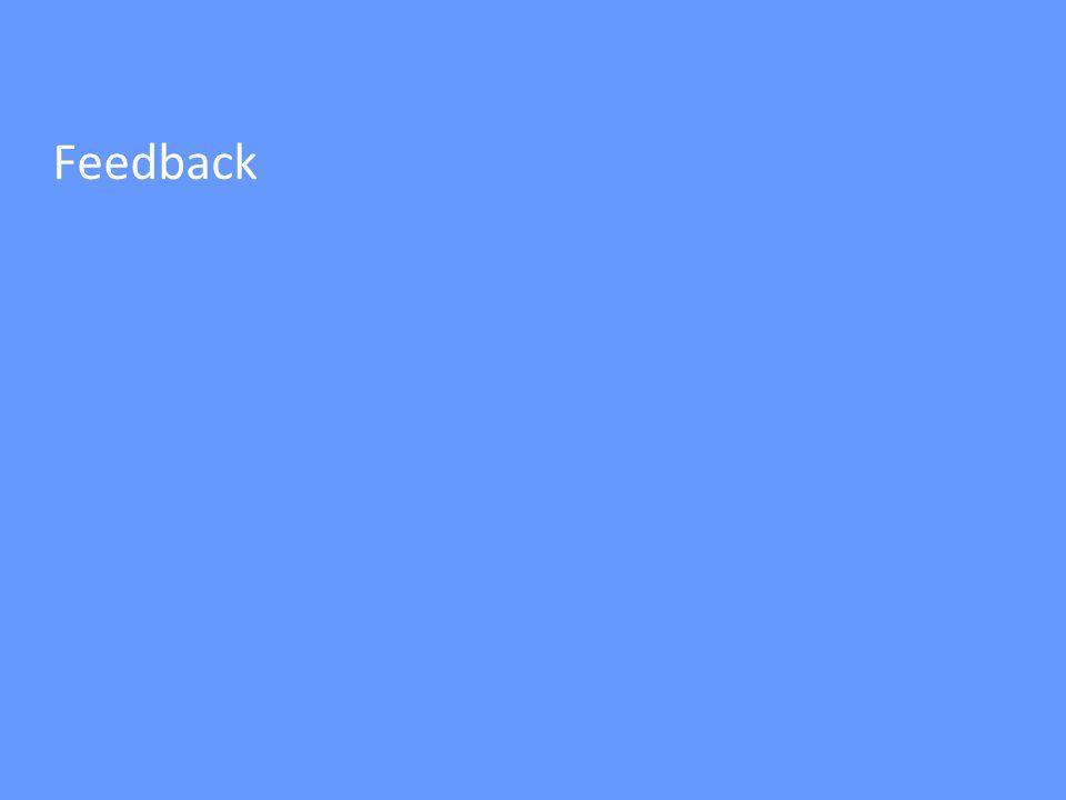 Feedback er et av de aller viktigste instrumentene i individuelle og gruppdynamiska utviklingssituasjoner.