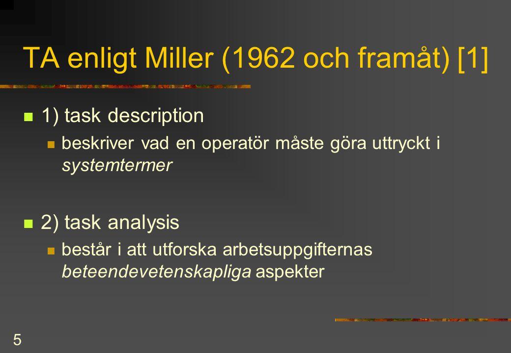 6 TA enligt Miller [2]