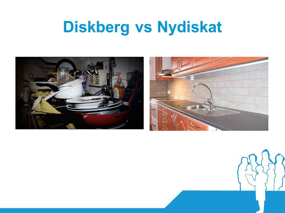 Diskberg vs Nydiskat