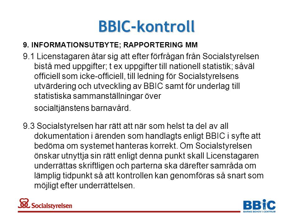 BBIC-kontroll 9.