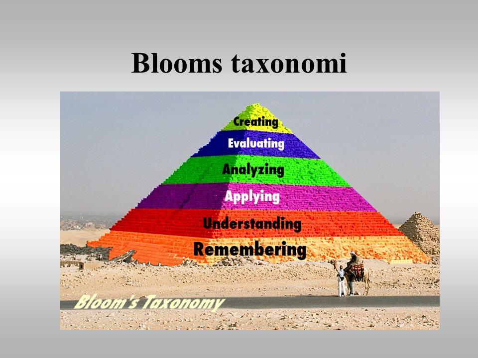 Blooms taxonomi