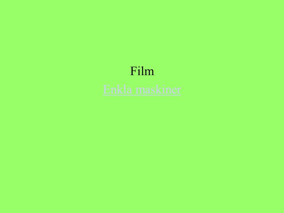 Film Enkla maskiner