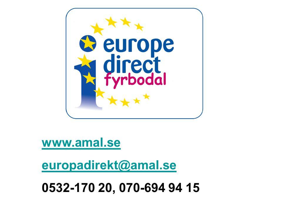 fyrbodal www.amal.se europadirekt@amal.se 0532-170 20, 070-694 94 15