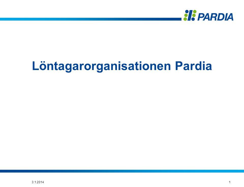 Löntagarorganisationen Pardia 13.1.2014
