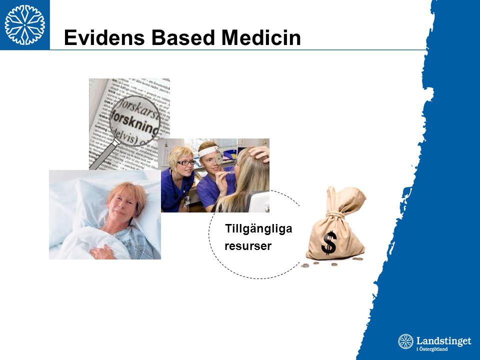Evidens Based Medicin Tillgängliga resurser