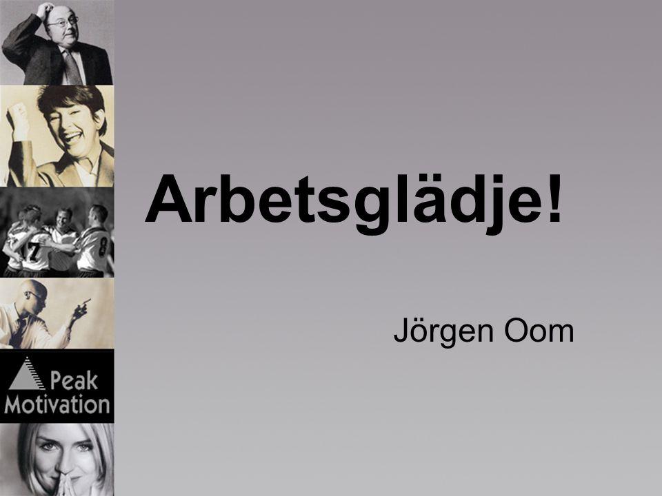 Arbetsglädje! Jörgen Oom