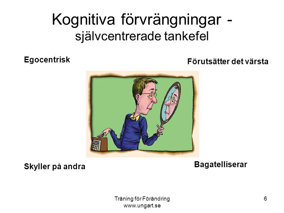 """Träning för Förändring www.ungart.se 5 MAKT """"Den starke har rätt"""" ÖVERENSKOMMELSER """"Jag kliar din rygg, du kliar min"""" ÖMSESIDIGHET """"Behandla andra som"""