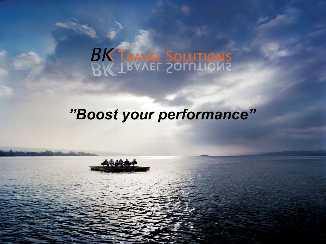 Boost your performance