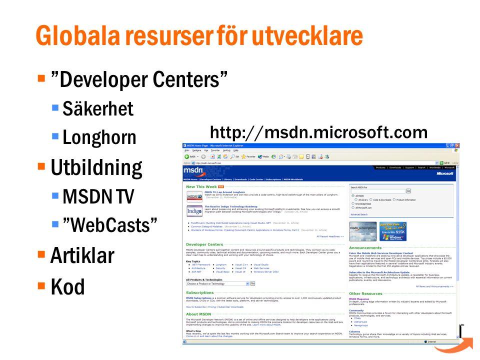 Visual Basic.NET  Inte bara Visual Basic 6.0 + 1  Byggt för.NET Framework  Common Language Runtime (mscoree.dll)  Alla basklassbibliotek (mscorlib.dll + andra)  Moderniserad och uppstädad syntax  Helt och hållet objektorienterat språk