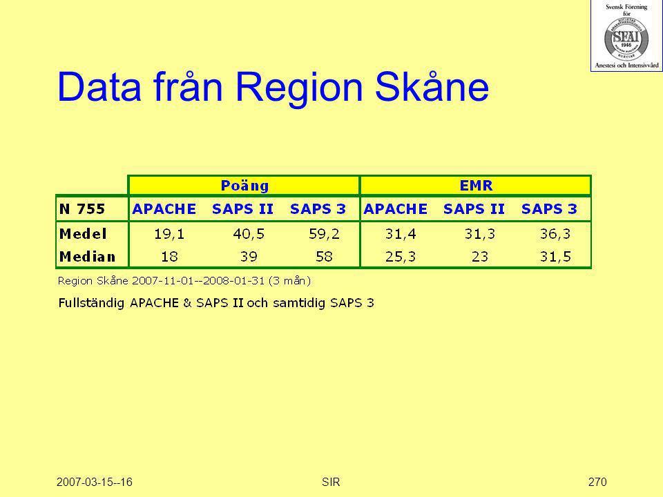 2007-03-15--16SIR270 Data från Region Skåne