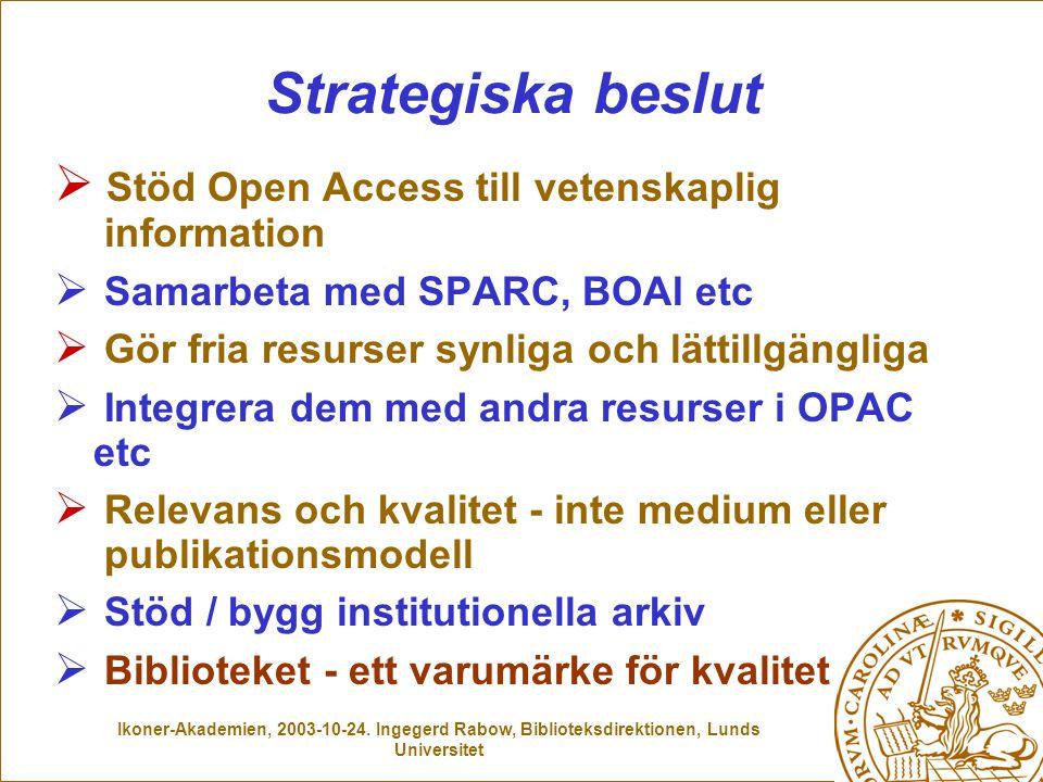 Ikoner-Akademien, 2003-10-24.