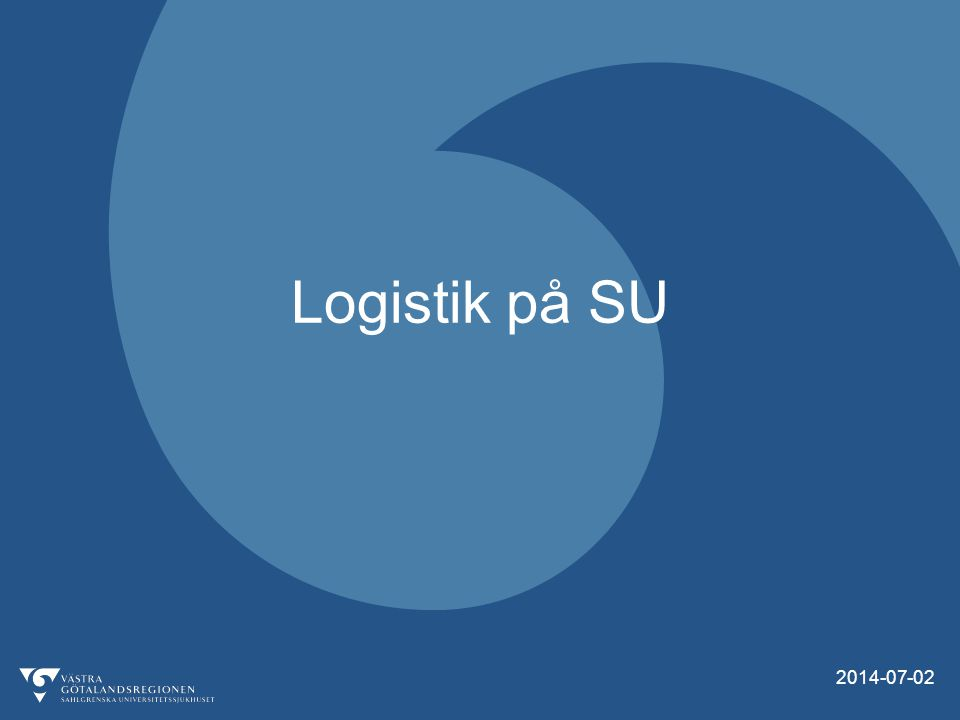2 Agenda  Vad är logistik.
