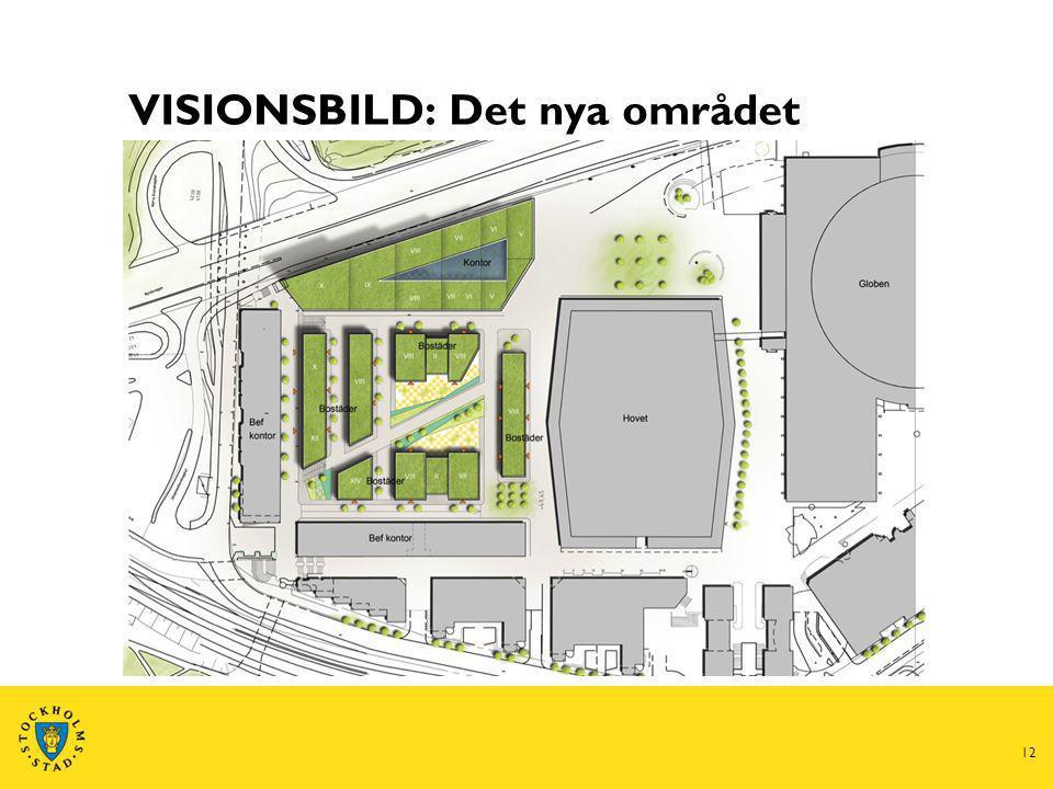 12 VISIONSBILD: Det nya området