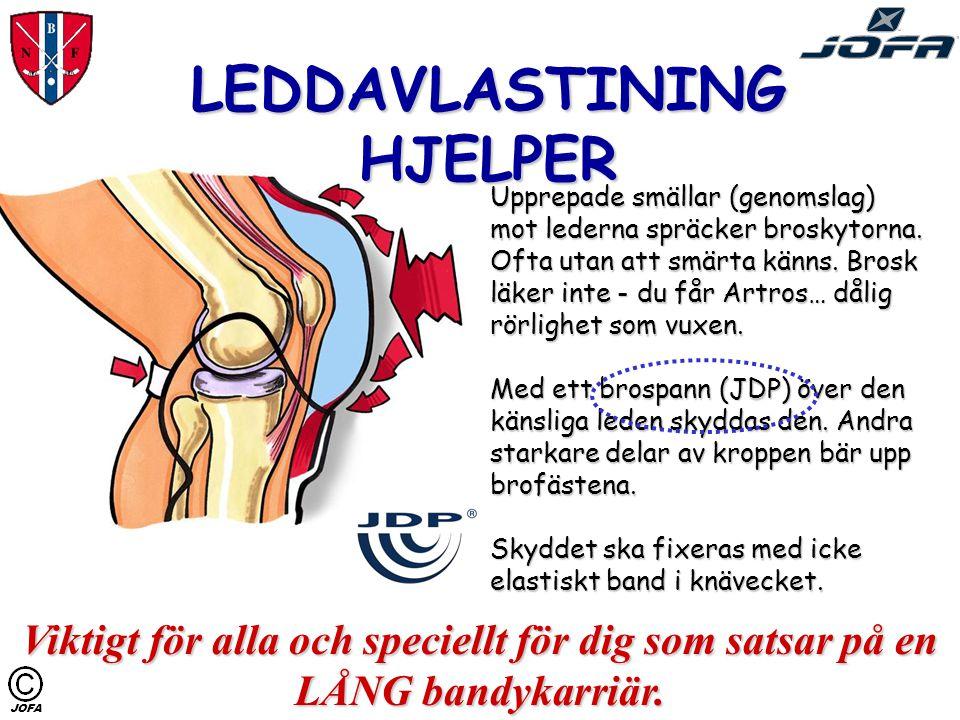 …SKADER PÅ BRUSK De uppstår när du har dåliga skydd för lederna, axel-, ben-, höft- och knäled. Kraften från ett fall mot isen pressar samman broskyto