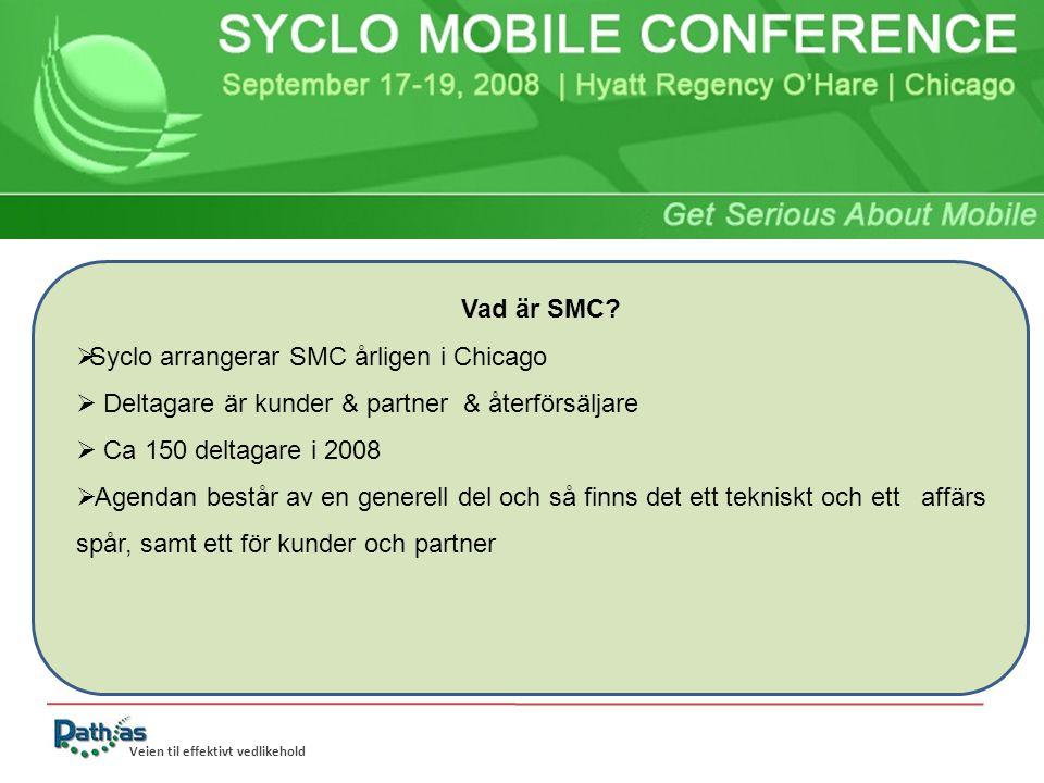Veien til effektivt vedlikehold Vad är SMC.