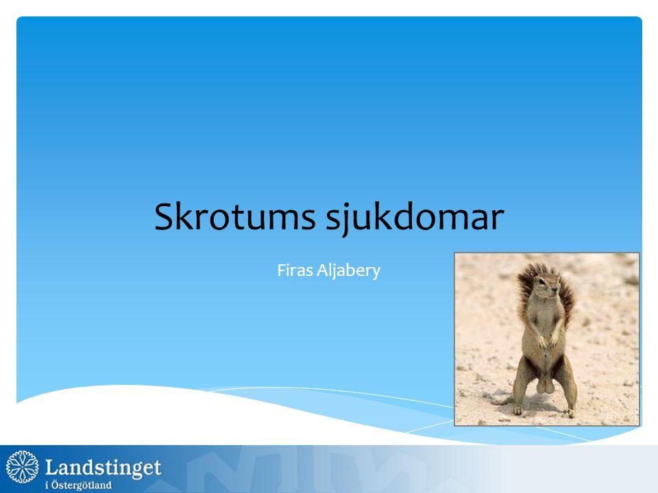  Svenska testikelcancerregistret-SWENOTECA  Testikelcancer är den vanligaste cancersjukdomen hos unga män mellan 25-40 år, hälften är av typen seminom och hälften nonseminom.