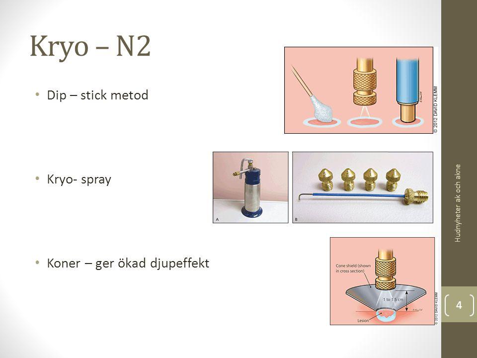 Kryo – N2 Dip – stick metod Kryo- spray Koner – ger ökad djupeffekt Hudnyheter ak och akne 4