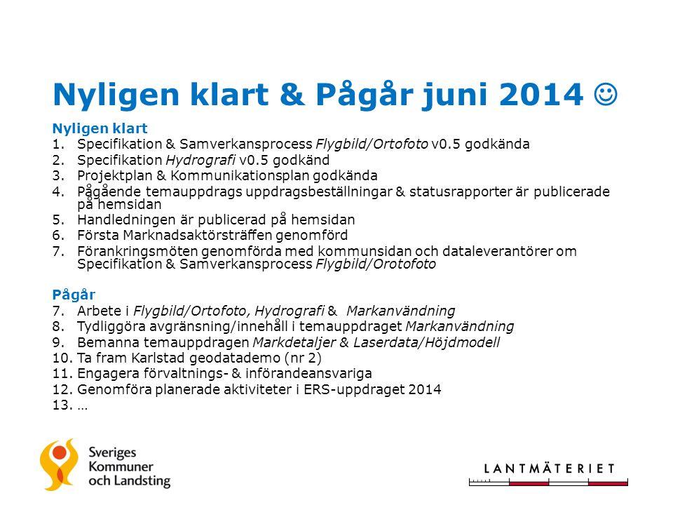 Samverkansprojektet Svensk geoprocess TACK!