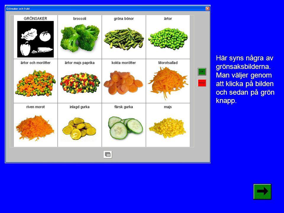 Nytt i Matstudion är att man kan välja två grönsaker eller frukt i på sin mattallrik.