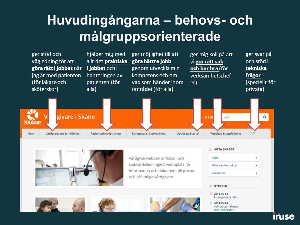 Ny struktur och grafisk design Grafisk design: Vi använder samma mallar som för Skane.se Orange – vår färg Nya tekniska möjligheter: Utbildningskalender Kategorisering/taggning