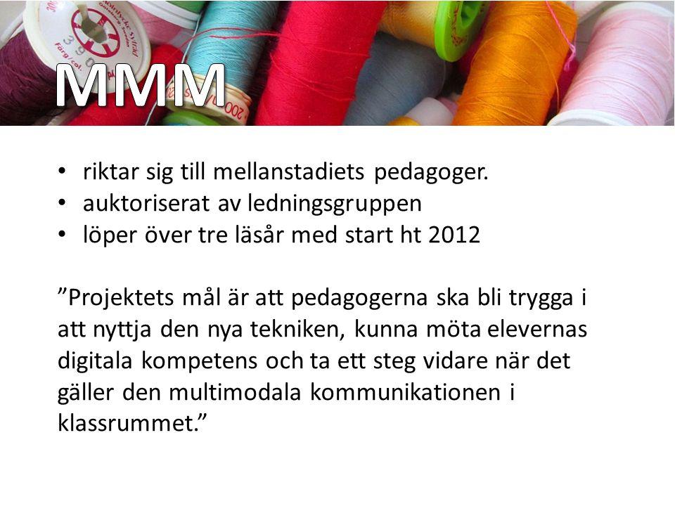 """""""Att spegla samtiden i klassrummet"""" Ett IKT/mediepedagogiskt utvecklingsarbete på mellanstadiet CMiT, Piteå kommun"""