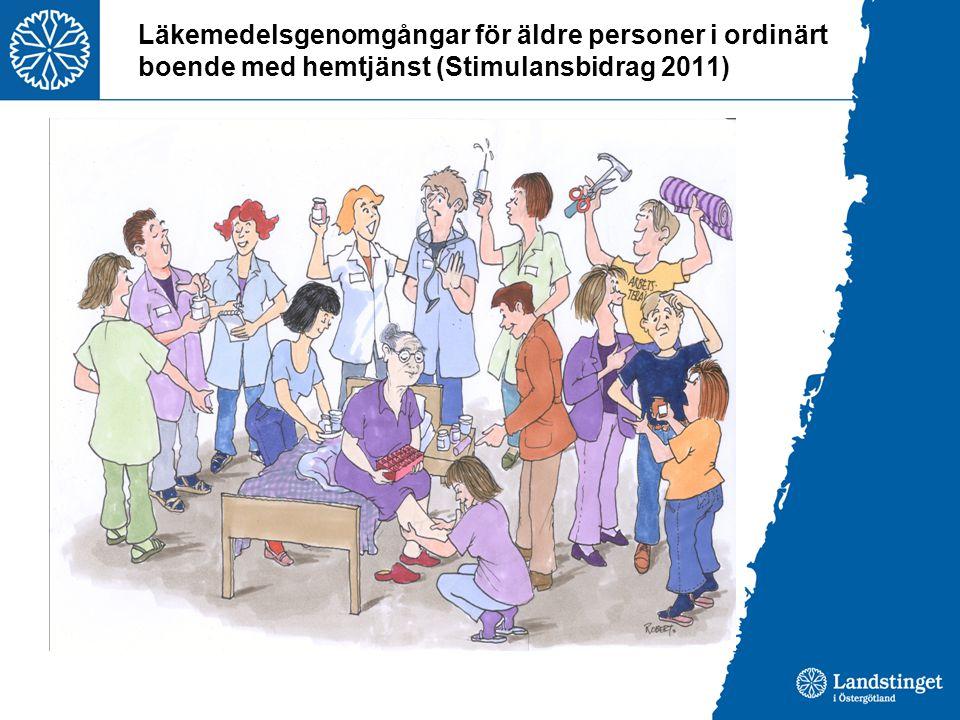 Läkemedelsgenomgångar för äldre personer i ordinärt boende med hemtjänst (Stimulansbidrag 2011)