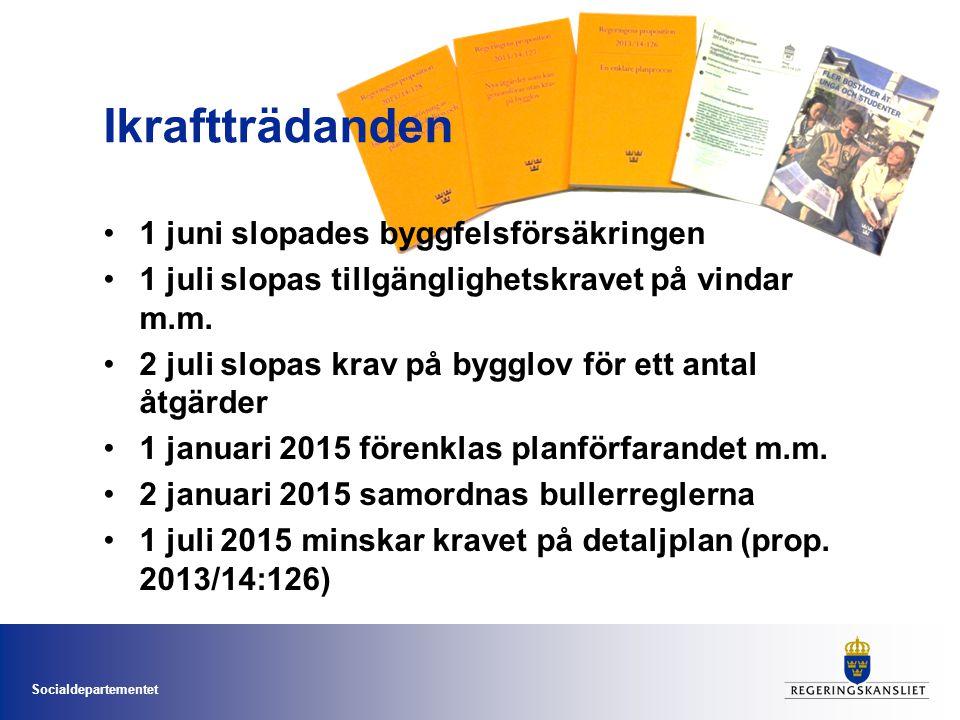 Socialdepartementet Återstående inom planområdet Regional planeringsnivå Riksintressen Strandskydd