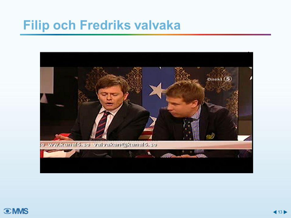 Filip och Fredriks valvaka 13