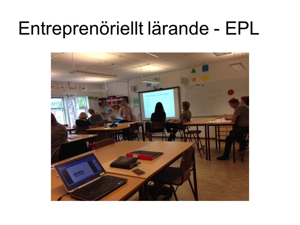 Entreprenöriellt lärande - EPL