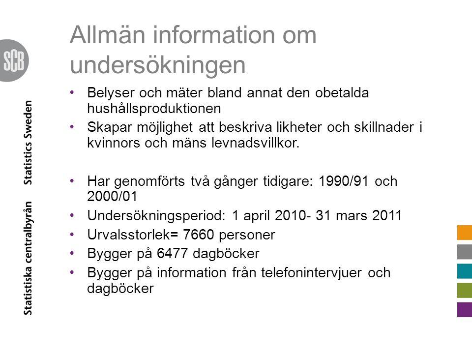 Resultat och data Grundtabeller publiceras på www.scb.se 31/8 2011 kl.
