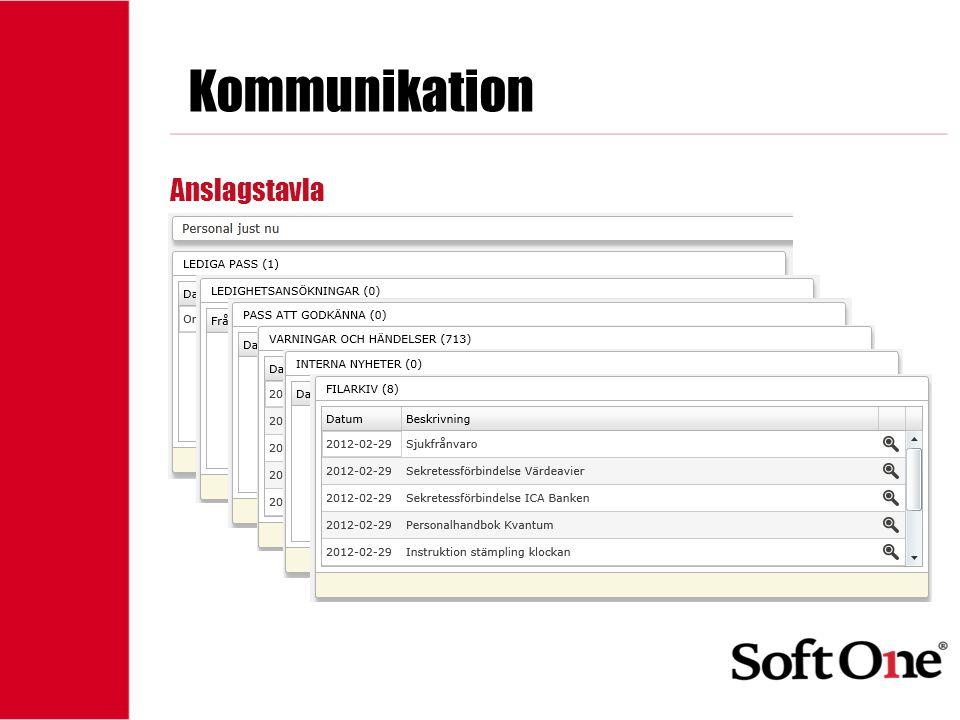 1-15 anställda Kommunikation XE Mail Intern mail Kopia till extern email SMS Skapa färdiga grupper Egna Gemensamma