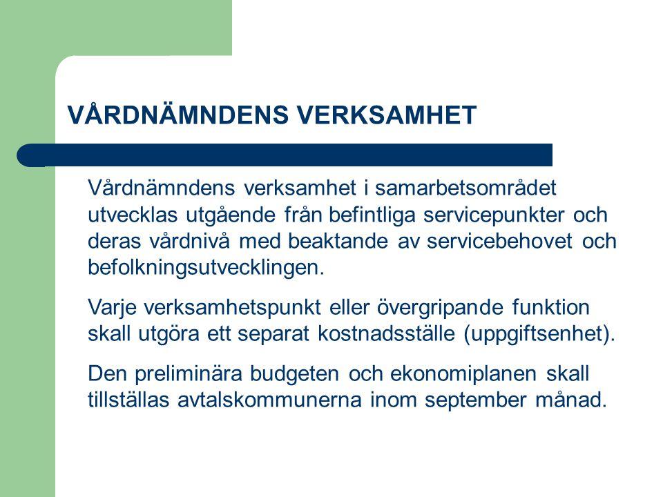 VÅRDNÄMNDEN Vårdnämnden utgör en del av nämndorganisationen i Korsholms kommun.
