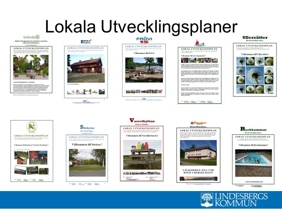 Dokument Policy dokument Landsbygdssäkring Tematiskt tillägg/ fördjupad översiktsplan samt strategi Definiera behovet av service i alla funktionella områden och orter Matchande servicepunkt i centralorten Digitala agenda för Lindesberg