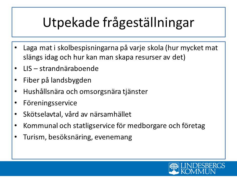 VISION År 2025 har Lindesbergs kommun: fått en stabil befolkningsutveckling tack vare en hög bibehållen inflyttning och en kraftig minskad utflyttning.