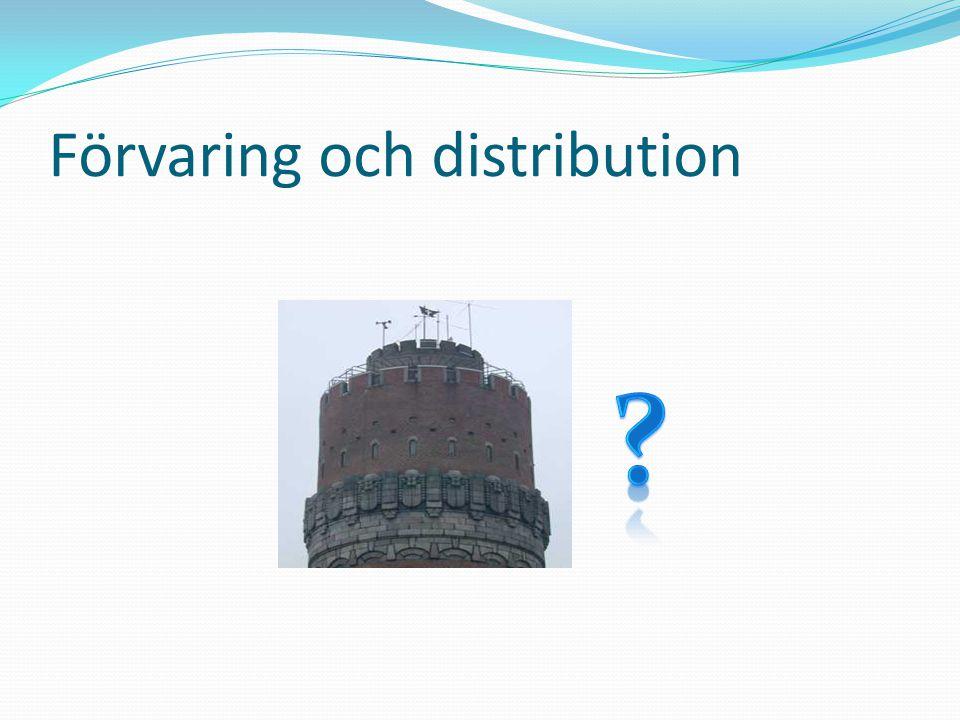 Förvaring och distribution