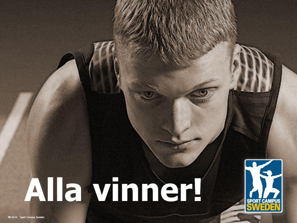 08-10-21 Sport Campus Sweden Alla vinner!