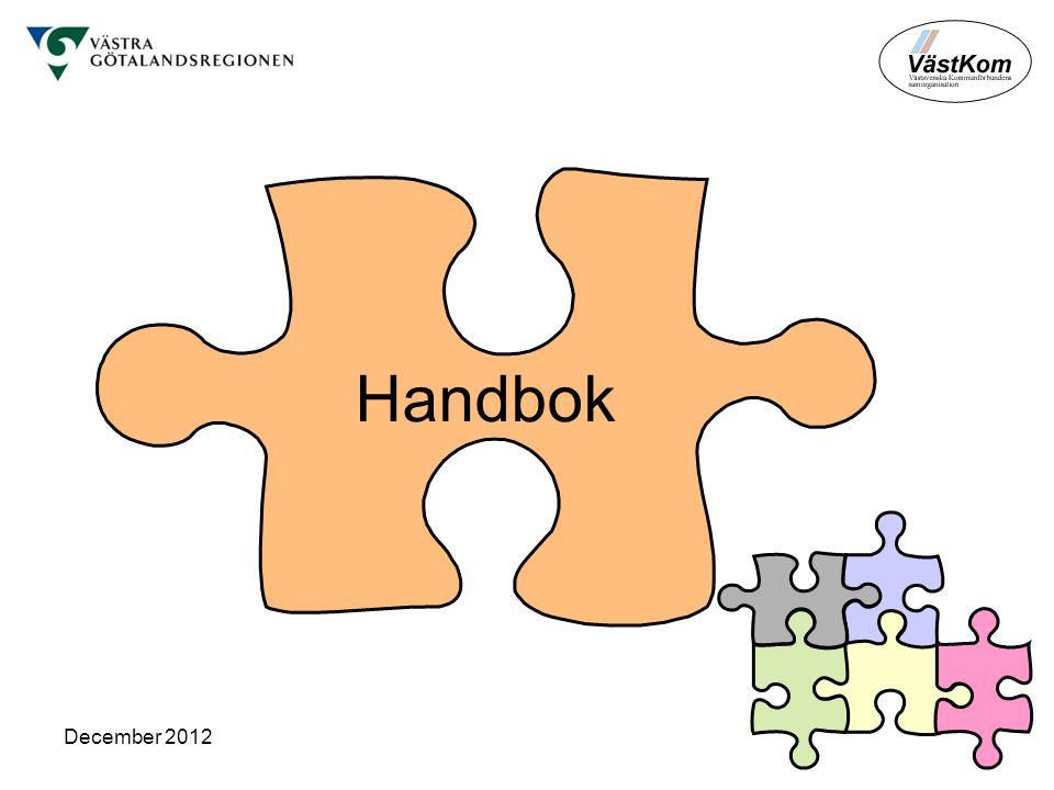 December 2012 Handbok