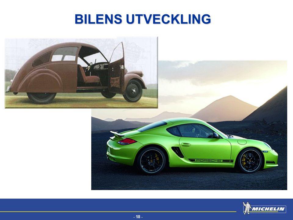 - 18 - EFV BILENS UTVECKLING