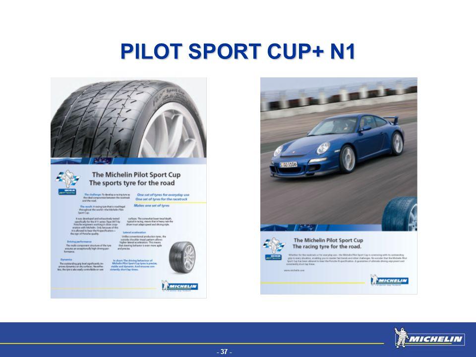 - 37 - EFV PILOT SPORT CUP+ N1