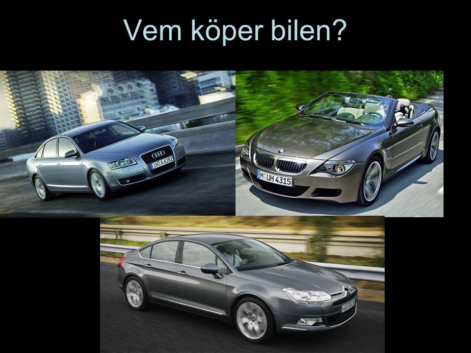 Vem köper bilen?