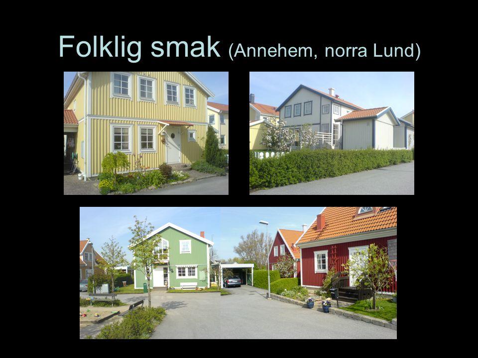 Folklig smak (Annehem, norra Lund)