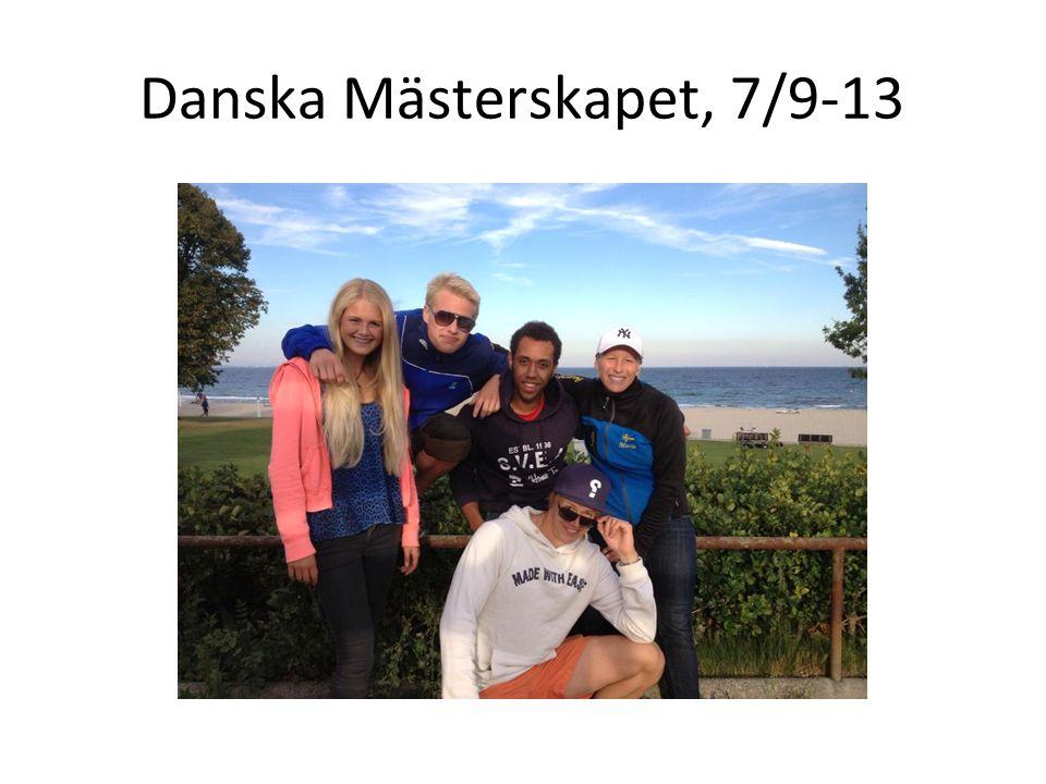 Danska Mästerskapet, 7/9-13
