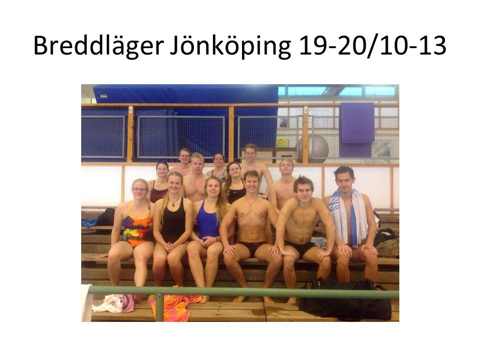 Breddläger Jönköping 19-20/10-13