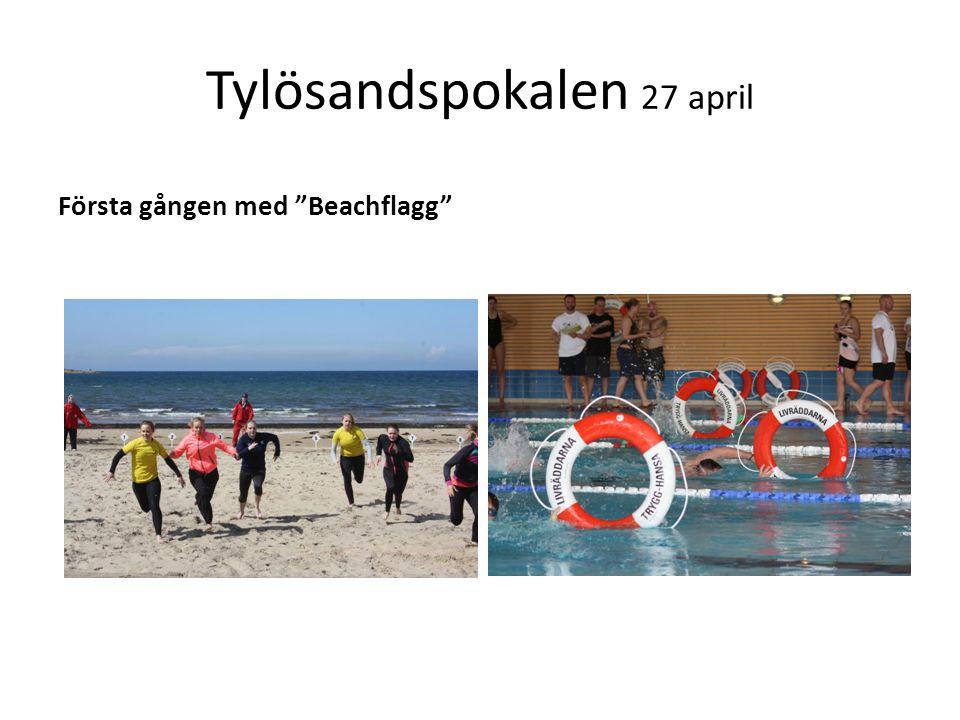 Tylösandspokalen 27 april Första gången med Beachflagg