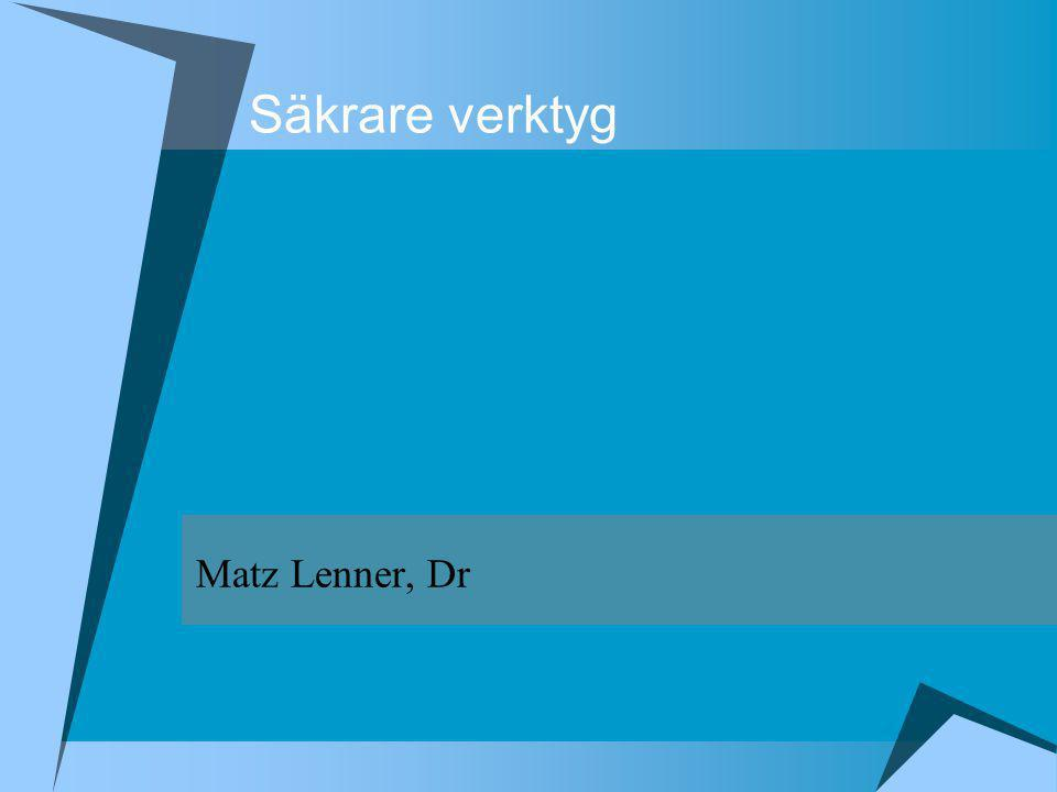 Maskindirektivets innehåll Kap 1 Anpassning och fri cirkulation Kap 2 Certifiering Kap 3 CE-märke Kap 4 Ikraftträdande samt 7 bilagor